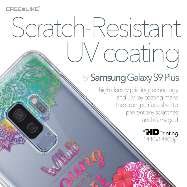 Samsung Galaxy S9 Plus case Mandala Art 2302 with UV-Coating Scratch-Resistant Case | CASEiLIKE.com