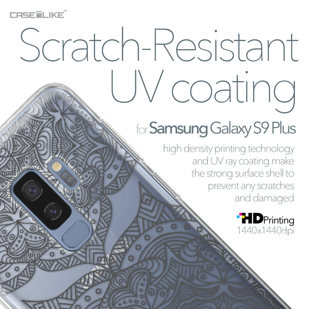 Samsung Galaxy S9 Plus case Mandala Art 2304 with UV-Coating Scratch-Resistant Case | CASEiLIKE.com