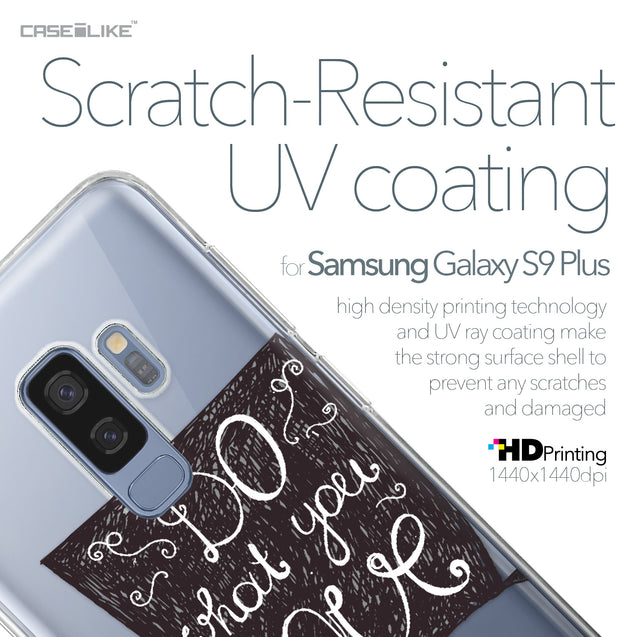 Samsung Galaxy S9 Plus case Quote 2400 with UV-Coating Scratch-Resistant Case | CASEiLIKE.com