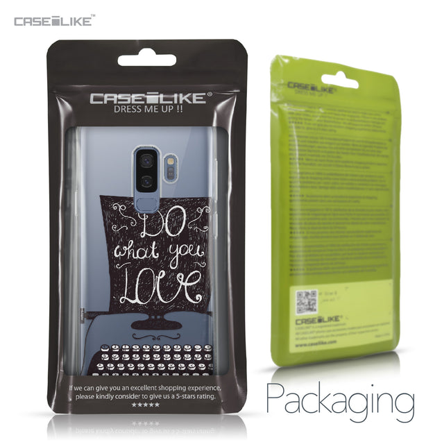 Samsung Galaxy S9 Plus case Quote 2400 Retail Packaging | CASEiLIKE.com