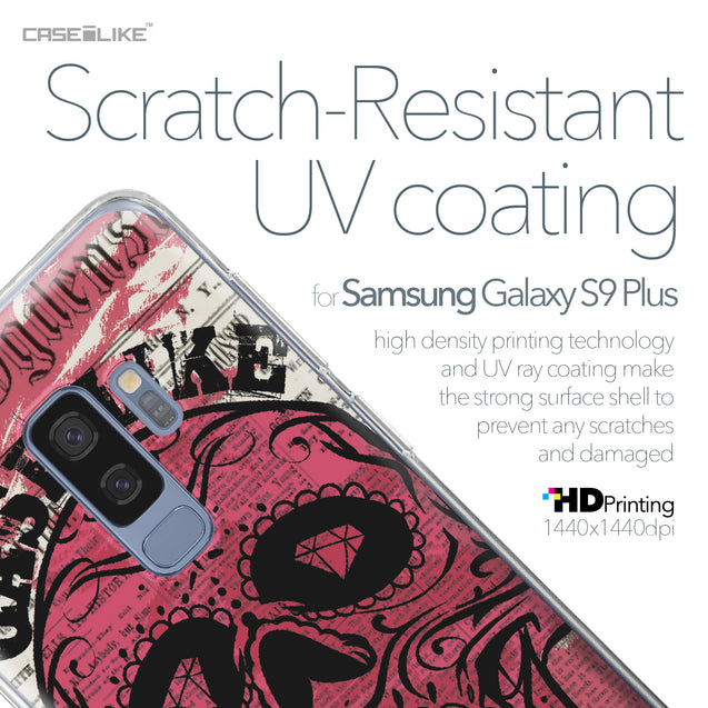 Samsung Galaxy S9 Plus case Art of Skull 2523 with UV-Coating Scratch-Resistant Case | CASEiLIKE.com