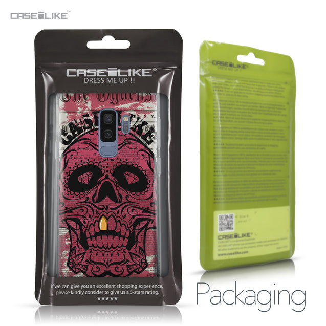 Samsung Galaxy S9 Plus case Art of Skull 2523 Retail Packaging | CASEiLIKE.com