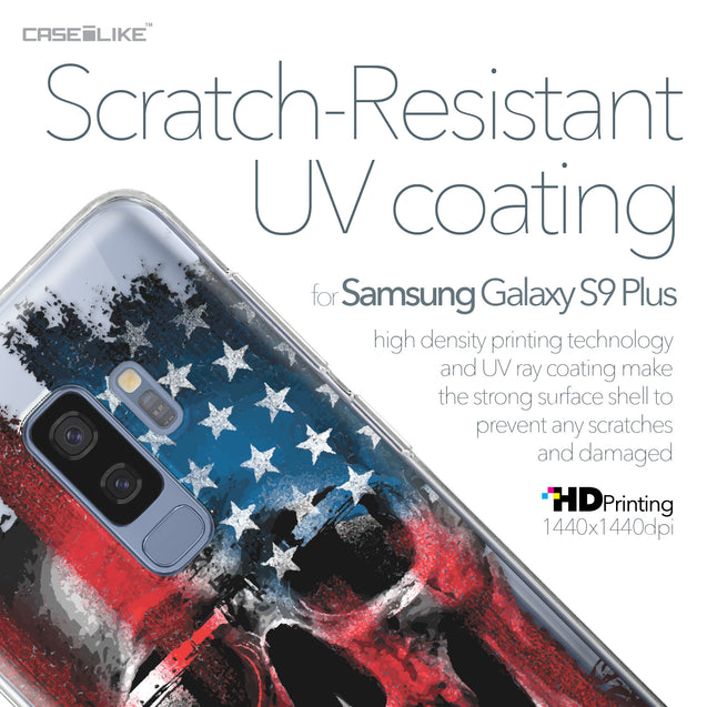 Samsung Galaxy S9 Plus case Art of Skull 2532 with UV-Coating Scratch-Resistant Case | CASEiLIKE.com