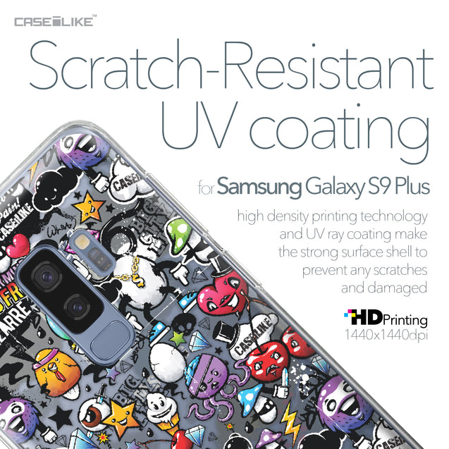 Samsung Galaxy S9 Plus case Graffiti 2703 with UV-Coating Scratch-Resistant Case | CASEiLIKE.com