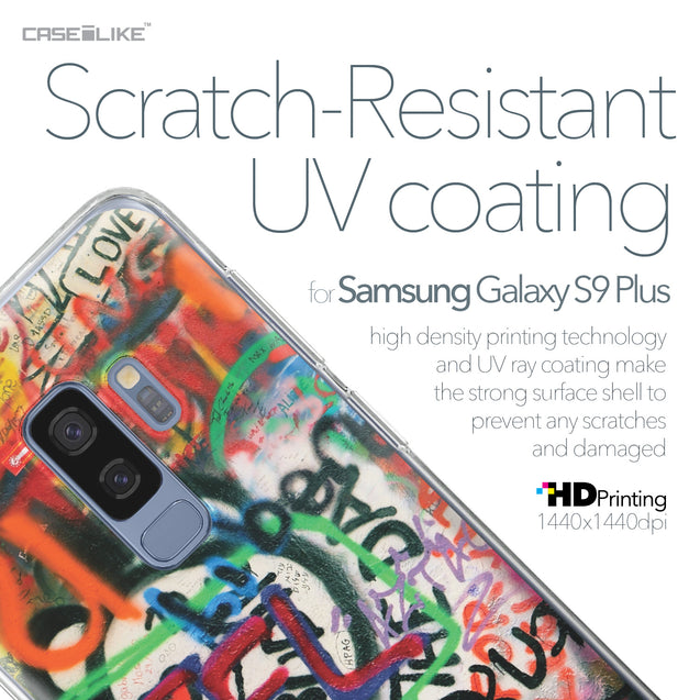 Samsung Galaxy S9 Plus case Graffiti 2721 with UV-Coating Scratch-Resistant Case | CASEiLIKE.com