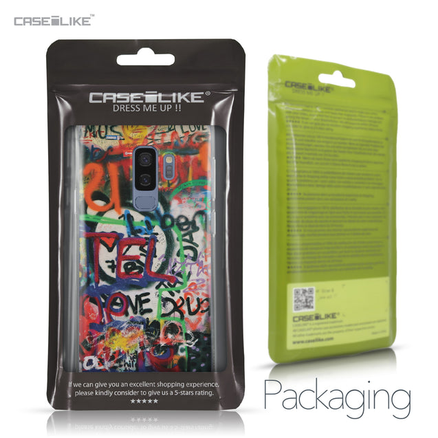 Samsung Galaxy S9 Plus case Graffiti 2721 Retail Packaging | CASEiLIKE.com