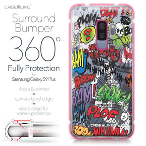 Samsung Galaxy S9 Plus case Comic Captions 2914 Bumper Case Protection | CASEiLIKE.com