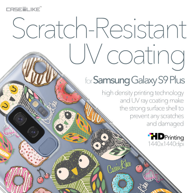 Samsung Galaxy S9 Plus case Owl Graphic Design 3315 with UV-Coating Scratch-Resistant Case | CASEiLIKE.com