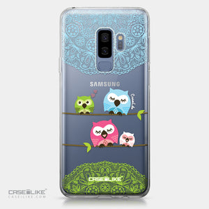 Samsung Galaxy S9 Plus case Owl Graphic Design 3318 | CASEiLIKE.com