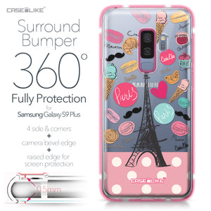 Samsung Galaxy S9 Plus case Paris Holiday 3904 Bumper Case Protection | CASEiLIKE.com
