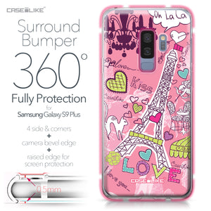 Samsung Galaxy S9 Plus case Paris Holiday 3905 Bumper Case Protection | CASEiLIKE.com