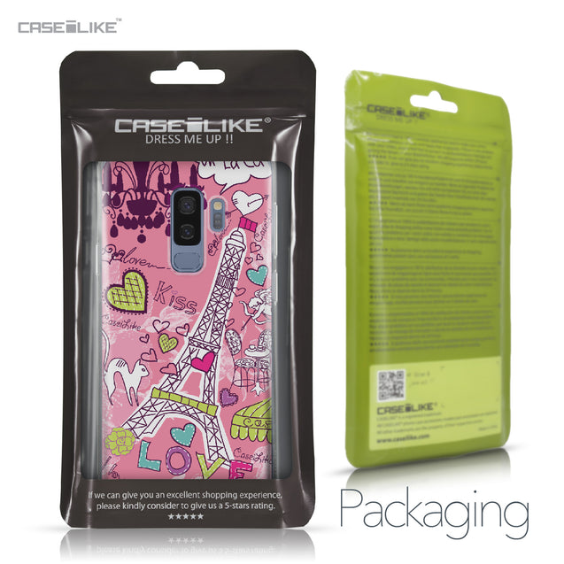 Samsung Galaxy S9 Plus case Paris Holiday 3905 Retail Packaging | CASEiLIKE.com