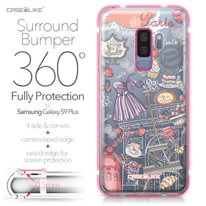 Samsung Galaxy S9 Plus case Paris Holiday 3907 Bumper Case Protection | CASEiLIKE.com