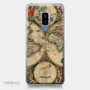 Samsung Galaxy S9 Plus case World Map Vintage 4607 | CASEiLIKE.com
