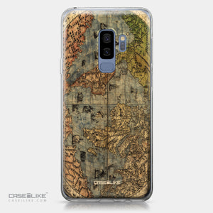Samsung Galaxy S9 Plus case World Map Vintage 4608 | CASEiLIKE.com