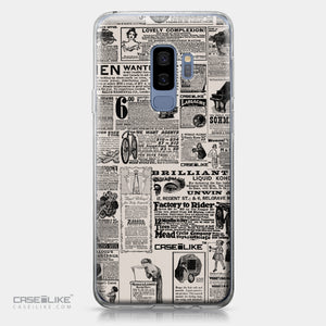 Samsung Galaxy S9 Plus case Vintage Newspaper Advertising 4818 | CASEiLIKE.com