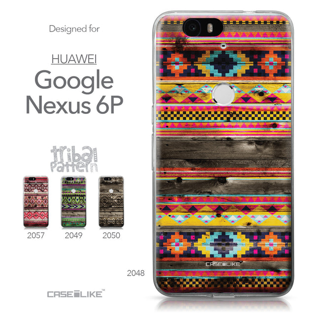Huawei Google Nexus 6P case Indian Tribal Theme Pattern 2048 Collection | CASEiLIKE.com