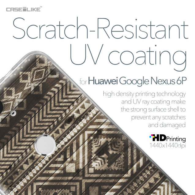 Huawei Google Nexus 6P case Indian Tribal Theme Pattern 2050 with UV-Coating Scratch-Resistant Case | CASEiLIKE.com
