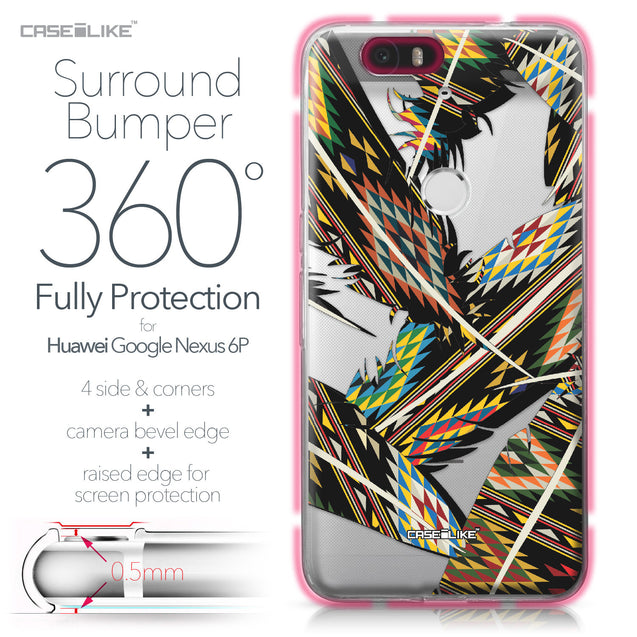 Huawei Google Nexus 6P case Indian Tribal Theme Pattern 2053 Bumper Case Protection | CASEiLIKE.com