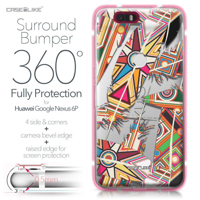 Huawei Google Nexus 6P case Indian Tribal Theme Pattern 2054 Bumper Case Protection | CASEiLIKE.com