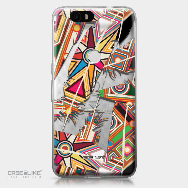 Huawei Google Nexus 6P case Indian Tribal Theme Pattern 2054 | CASEiLIKE.com