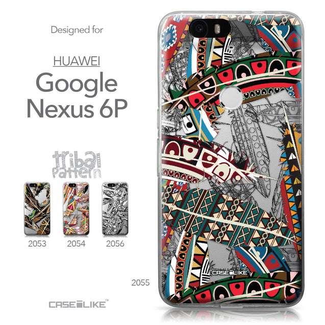 Huawei Google Nexus 6P case Indian Tribal Theme Pattern 2055 Collection | CASEiLIKE.com