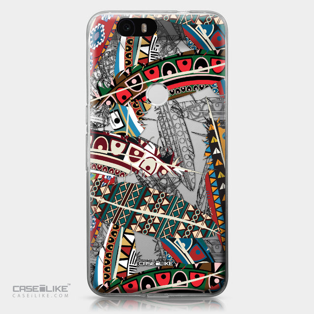 Huawei Google Nexus 6P case Indian Tribal Theme Pattern 2055 | CASEiLIKE.com