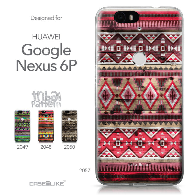 Huawei Google Nexus 6P case Indian Tribal Theme Pattern 2057 Collection | CASEiLIKE.com
