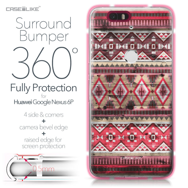 Huawei Google Nexus 6P case Indian Tribal Theme Pattern 2057 Bumper Case Protection | CASEiLIKE.com