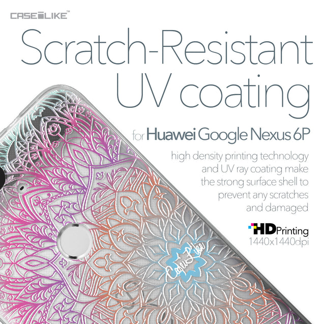Huawei Google Nexus 6P case Mandala Art 2090 with UV-Coating Scratch-Resistant Case | CASEiLIKE.com
