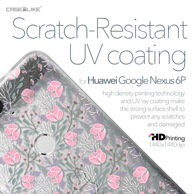 Huawei Google Nexus 6P case Flowers Herbs 2246 with UV-Coating Scratch-Resistant Case | CASEiLIKE.com