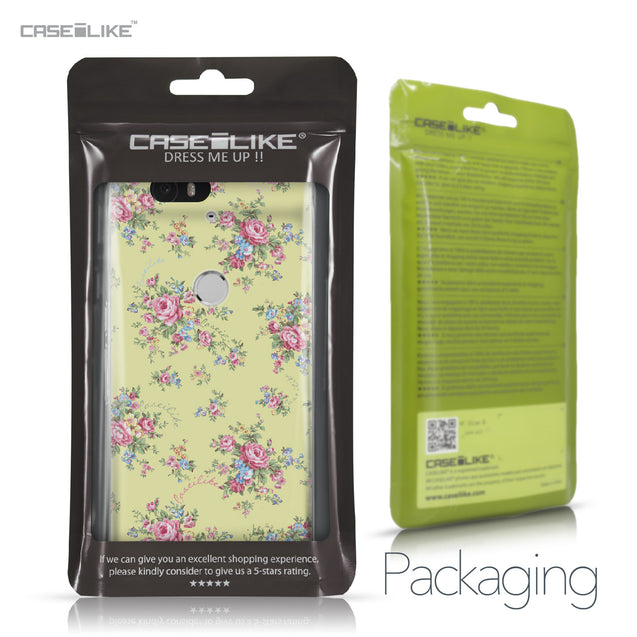 Huawei Google Nexus 6P case Floral Rose Classic 2264 Retail Packaging | CASEiLIKE.com