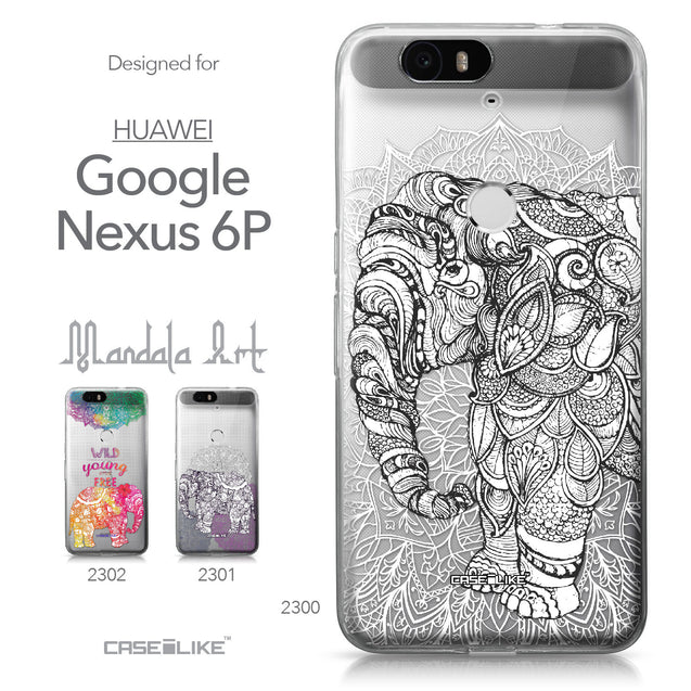 Huawei Google Nexus 6P case Mandala Art 2300 Collection | CASEiLIKE.com