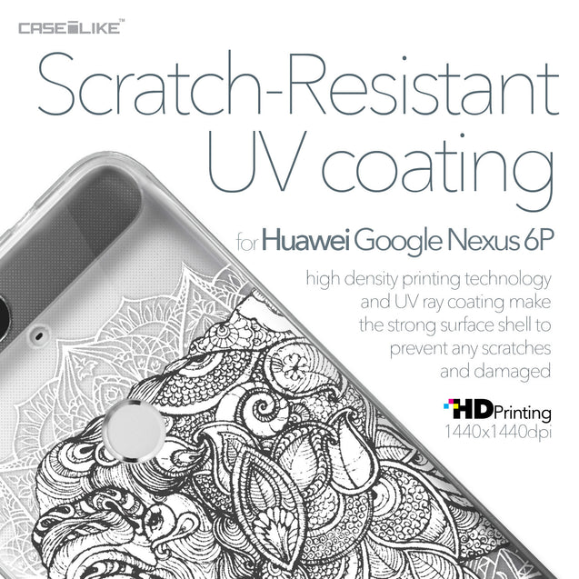 Huawei Google Nexus 6P case Mandala Art 2300 with UV-Coating Scratch-Resistant Case | CASEiLIKE.com