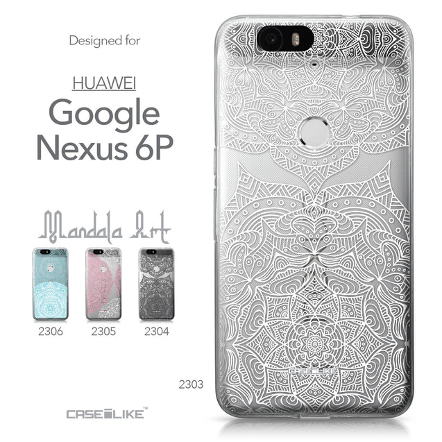 Huawei Google Nexus 6P case Mandala Art 2303 Collection | CASEiLIKE.com