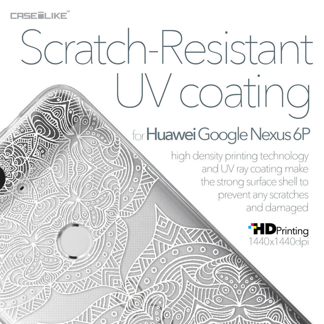 Huawei Google Nexus 6P case Mandala Art 2303 with UV-Coating Scratch-Resistant Case | CASEiLIKE.com