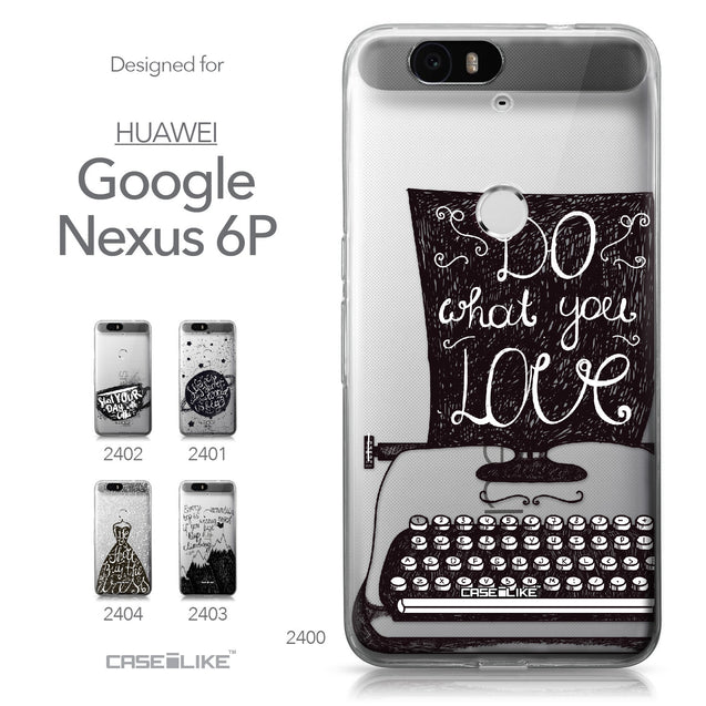 Huawei Google Nexus 6P case Quote 2400 Collection | CASEiLIKE.com