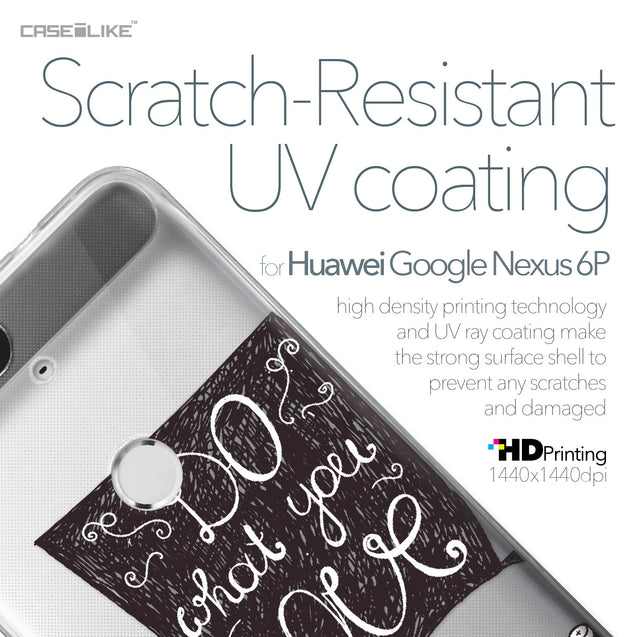 Huawei Google Nexus 6P case Quote 2400 with UV-Coating Scratch-Resistant Case | CASEiLIKE.com