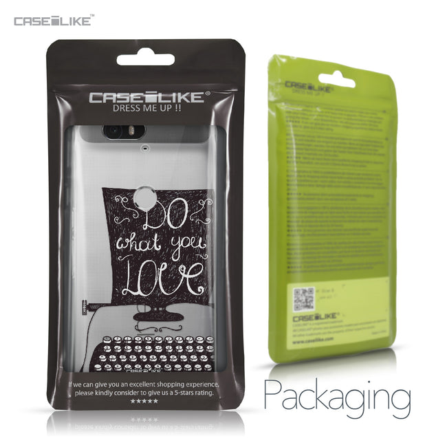 Huawei Google Nexus 6P case Quote 2400 Retail Packaging | CASEiLIKE.com