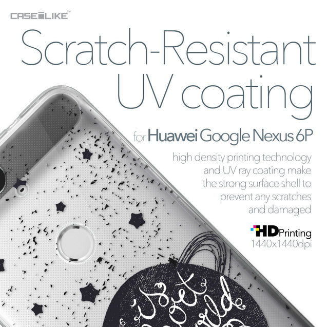 Huawei Google Nexus 6P case Quote 2401 with UV-Coating Scratch-Resistant Case | CASEiLIKE.com