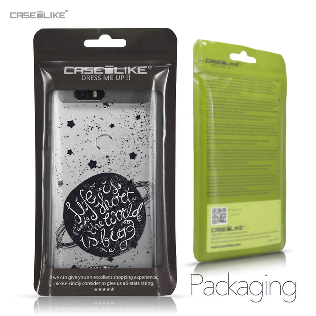 Huawei Google Nexus 6P case Quote 2401 Retail Packaging | CASEiLIKE.com