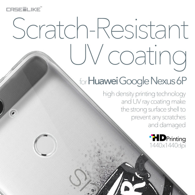 Huawei Google Nexus 6P case Quote 2402 with UV-Coating Scratch-Resistant Case | CASEiLIKE.com