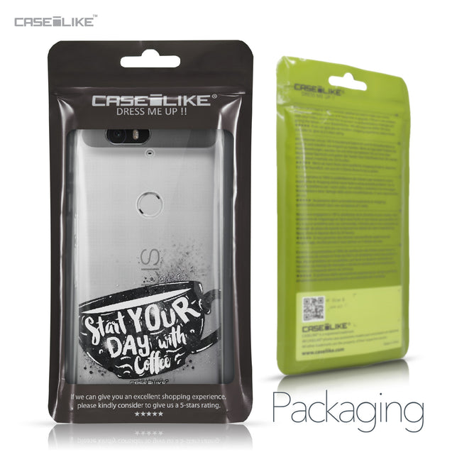 Huawei Google Nexus 6P case Quote 2402 Retail Packaging | CASEiLIKE.com