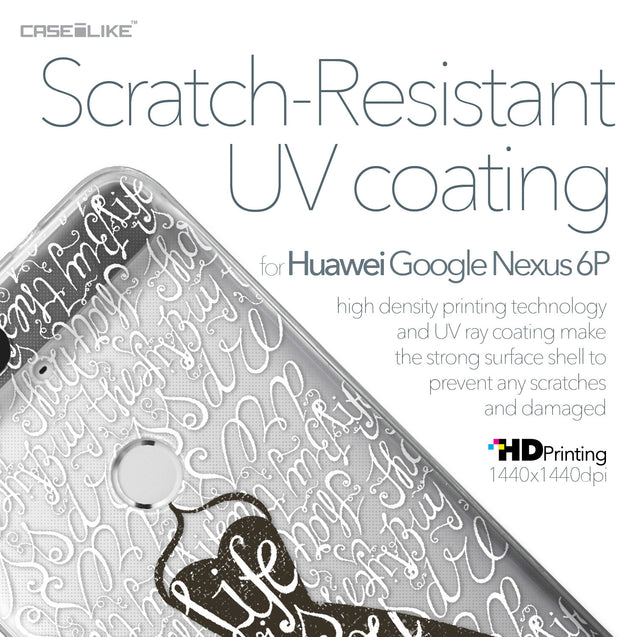 Huawei Google Nexus 6P case Quote 2404 with UV-Coating Scratch-Resistant Case | CASEiLIKE.com