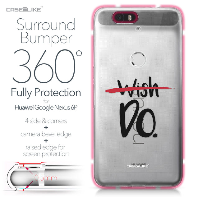Huawei Google Nexus 6P case Quote 2407 Bumper Case Protection | CASEiLIKE.com