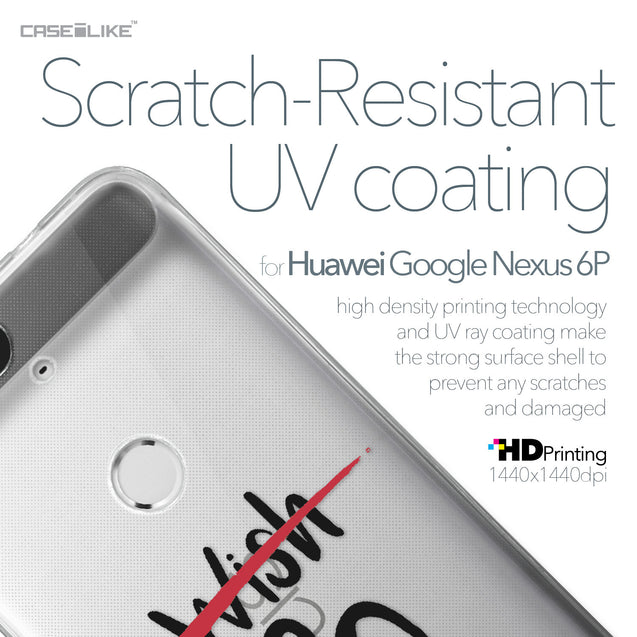 Huawei Google Nexus 6P case Quote 2407 with UV-Coating Scratch-Resistant Case | CASEiLIKE.com