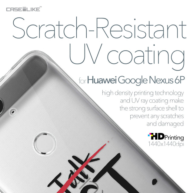 Huawei Google Nexus 6P case Quote 2408 with UV-Coating Scratch-Resistant Case | CASEiLIKE.com