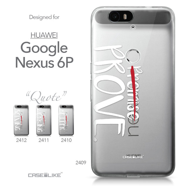 Huawei Google Nexus 6P case Quote 2409 Collection | CASEiLIKE.com
