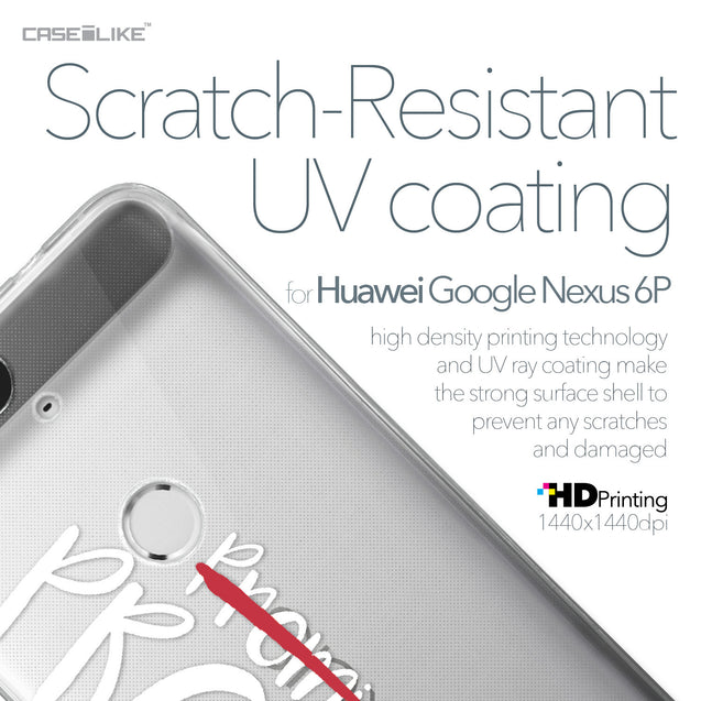Huawei Google Nexus 6P case Quote 2409 with UV-Coating Scratch-Resistant Case | CASEiLIKE.com