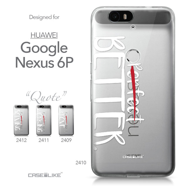 Huawei Google Nexus 6P case Quote 2410 Collection | CASEiLIKE.com